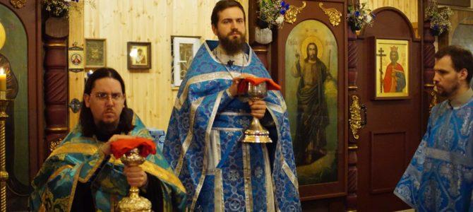 Благовещение Пресвятой Богородицы. Вечерняя Литургия.