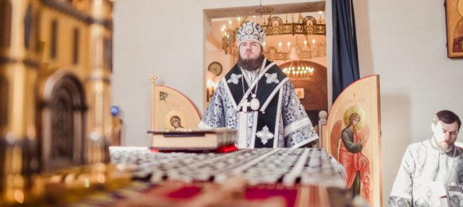 Викарий Святейшего Патриарха епископ Бронницкий Фома совершит Раннюю Преждеосвященную Литургию в нашем храме